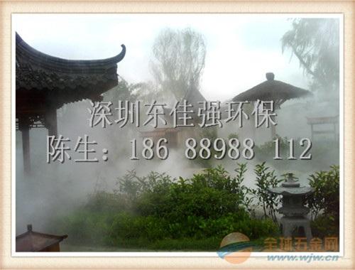 张家口园林景观喷雾造景系统工程