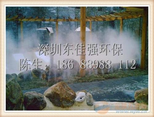 供应威海高压人造雾系统,喷雾降温,喷雾景观人造雾