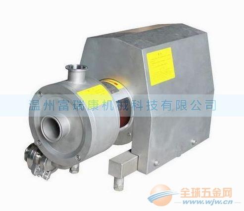 SRH系列高剪切均质乳化泵_管线式乳化机_混合精细乳化泵