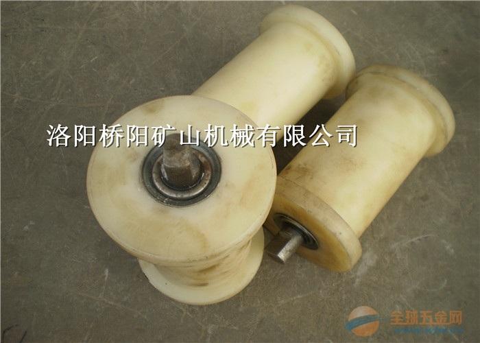 尼龙护绳抗压地辊 浇铸型耐磨地辊