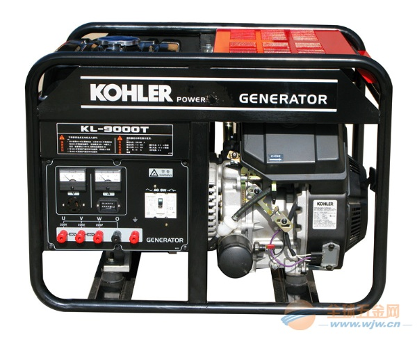 KL9000T 6KW 科勒汽油发电机组 三相
