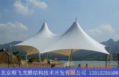 北京平谷区膜结构景观