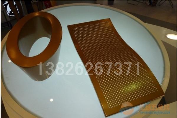 造型铝单板-弧形线条铝板