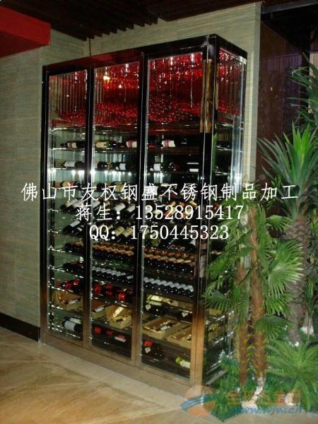 不锈钢[焊接 订做]酒架 酒柜 真空镀古铜 玫瑰金