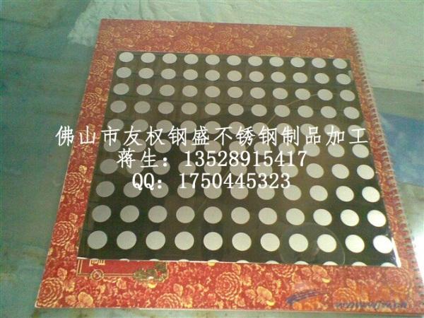 大面积腐蚀不锈钢板,不锈钢表面蚀刻鱼鳞花纹板