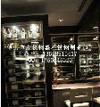 不锈钢酒柜 酒店专用玫瑰金不锈钢酒柜 西餐厅不锈钢酒柜定制