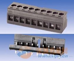 接线端子/西门子plc端子台   两极电源插头   >s7-200接线端