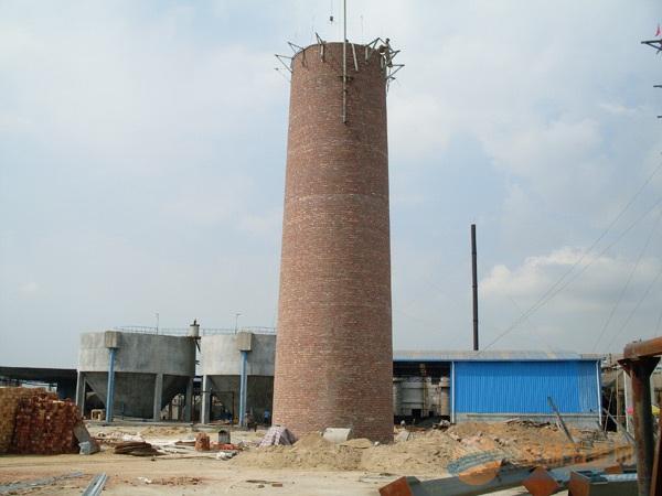 砖砌烟囱施工技术工艺与施工方案