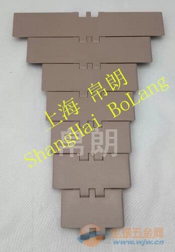 自动化输送塑钢平顶链板