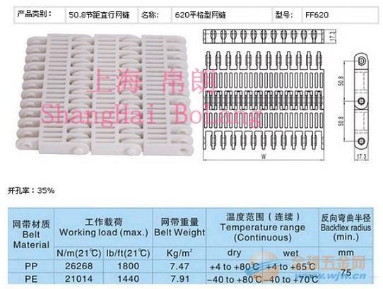 620塑料网带厂家