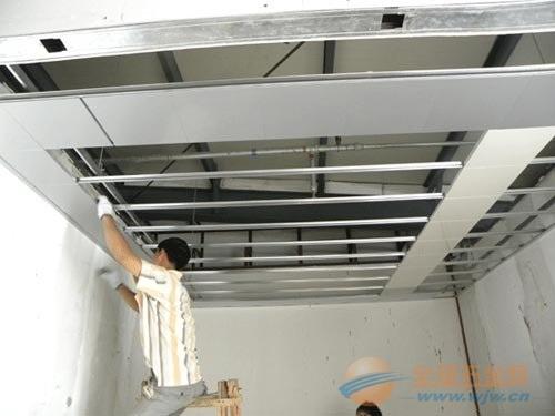 铝扣板安装工艺流程图片