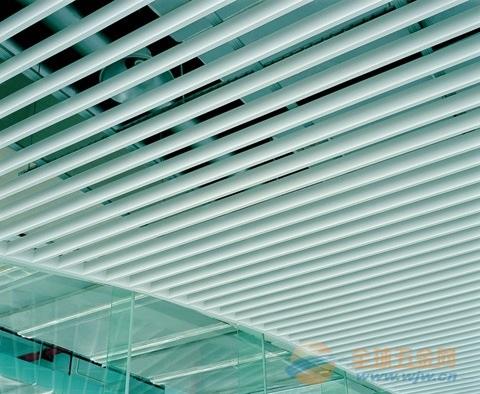 铝方通 图书馆专用30 80铝方通吊顶效果图