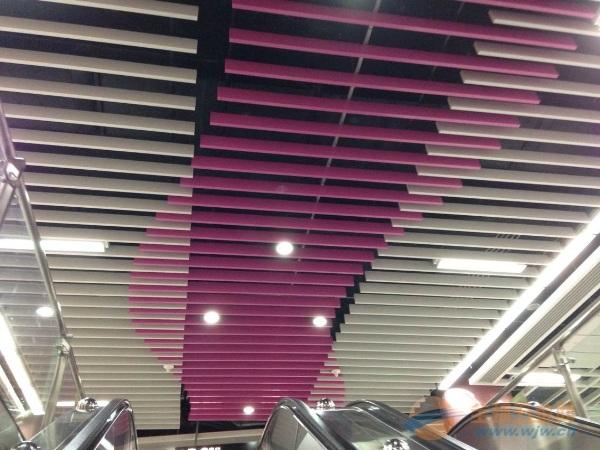 铝方通吊顶-安装