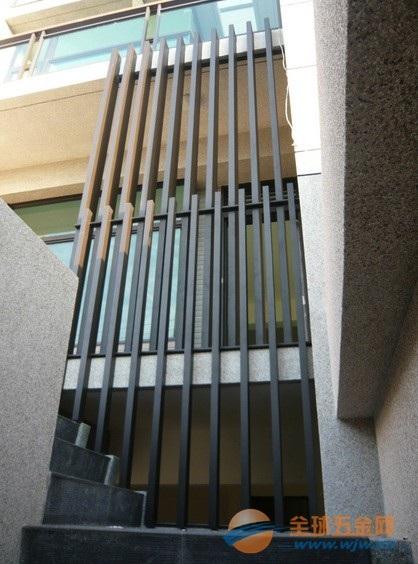 外墙铝方通施工工艺-木纹铝方通外墙