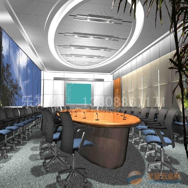 建筑装饰五金 天花板 >会议室造型铝单板吊顶安装效果图 更多 造型铝