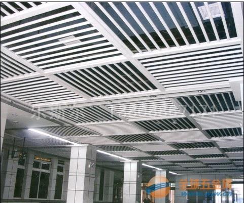 铝圆管最新组合吊顶效果图