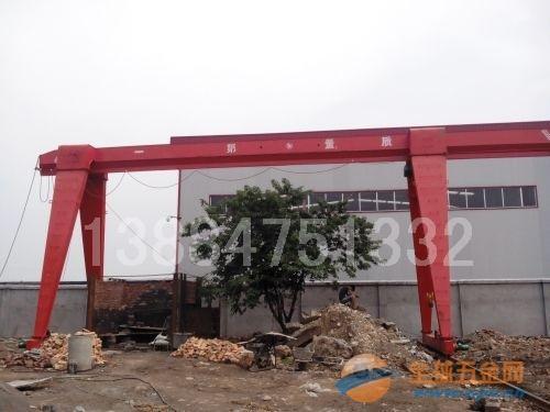 10吨电动葫芦单梁龙门吊