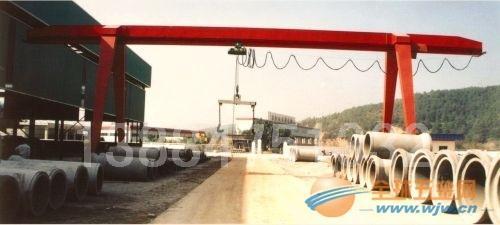湖北地区电动葫芦单梁龙门吊