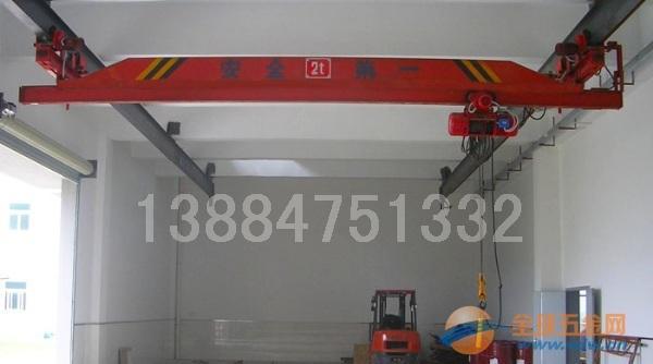 3吨电动葫芦单梁悬挂起重机