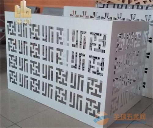 雕花铝单板空调罩厂家批发