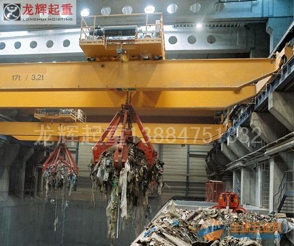 QZ型双梁抓斗起重机实力生产销售厂家
