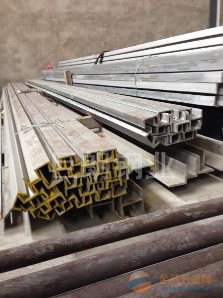 上海型材不锈钢酸洗热轧角钢、扁钢冷拉304钢锭