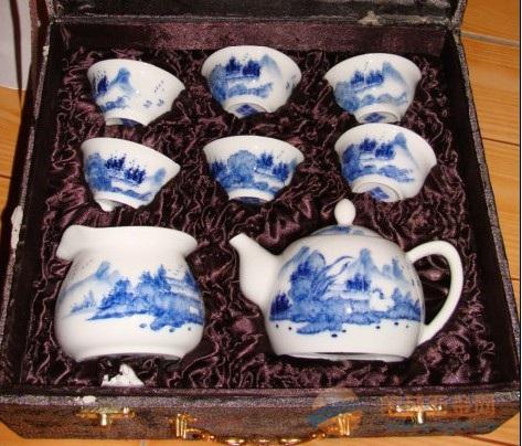 景德镇陶瓷茶具批发,上海陶瓷茶具,景德镇青花瓷茶具