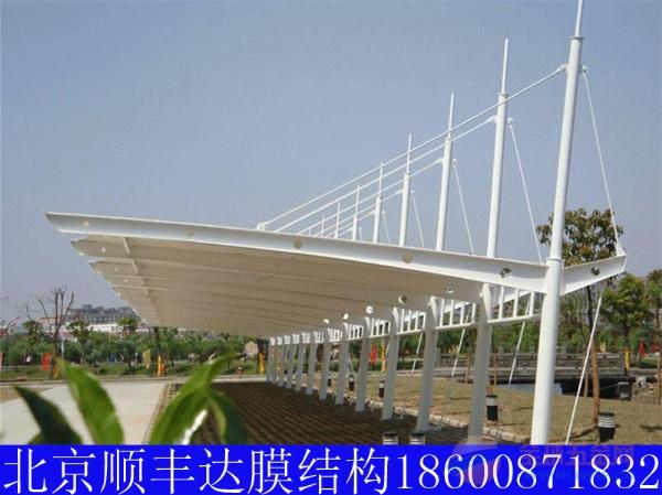 武汉自行车棚膜结构厂