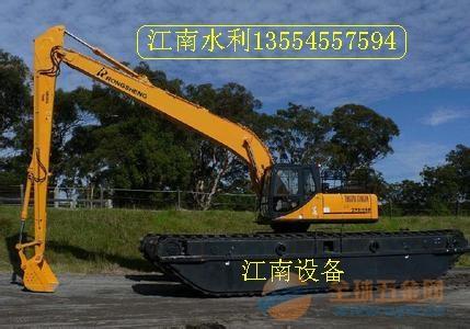 水路挖掘机出租,高效率低能耗水陆挖掘机出租