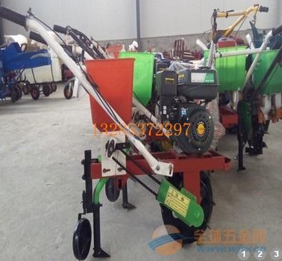 手扶拖拉机玉米播种机施肥机