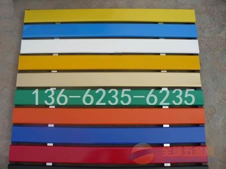 广告牌彩钢扣板常用规格|广告牌R型铝条扣厂家