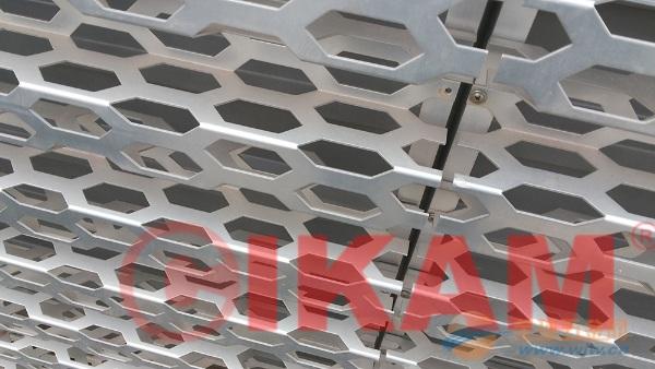 奥迪4S店专用铝幕墙长城造型