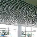 4S店铝格栅天花吊顶