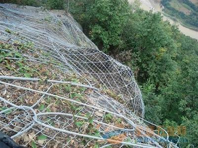 柔性防护网安装方法