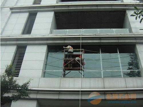 高处吊篮出租 外墙吊篮租用 高空作业施工