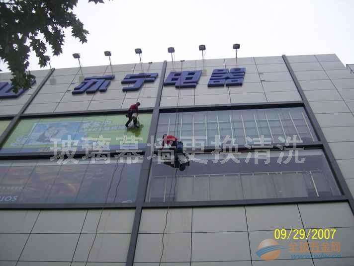 广州安装超大超长超厚幕墙玻璃 专业安装幕墙玻璃