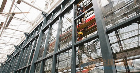 中山外墙拆装玻璃 外墙玻璃安装 外墙高空作业施工