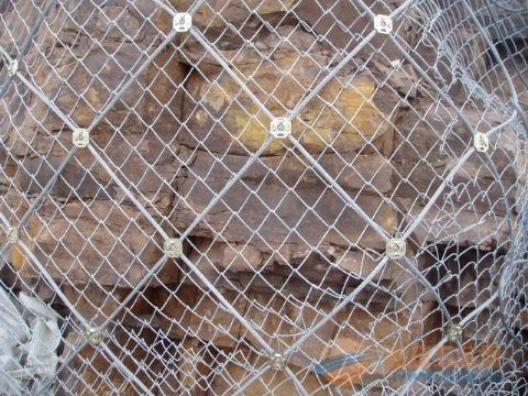 高速公路山体护坡钢丝绳网价格