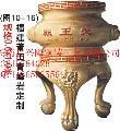 铸造香炉厂家定制批发寺庙铜铁香炉六龙柱香价格便宜品质上乘
