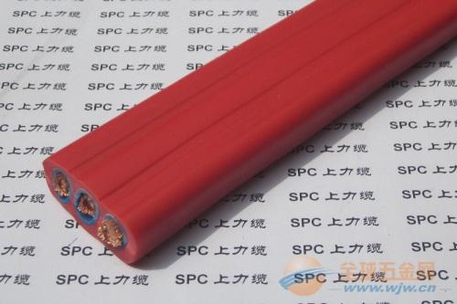 YFFBG-CAT5E带网线行车扁电缆钢丝加强型