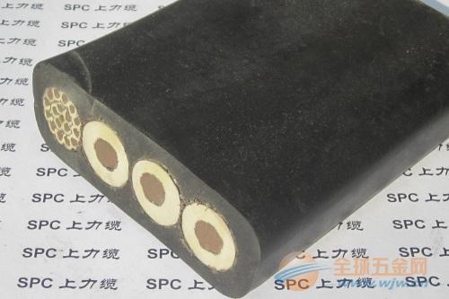 YBFP橡胶扁电缆屏蔽型 橡套起重机扁电缆 扁电缆