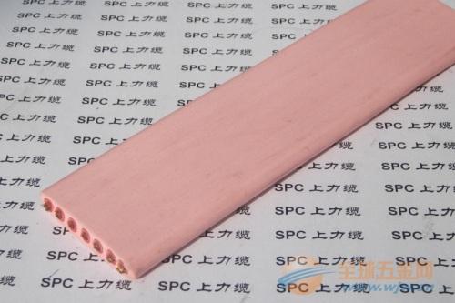 YFFBG-OF带光纤行车扁电缆钢丝加强型