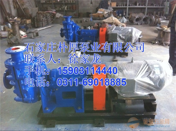 100ZJG-I-B42高铬合金渣浆泵