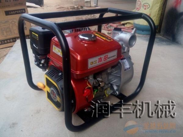 農用汽油抽水泵 農田澆灌設備