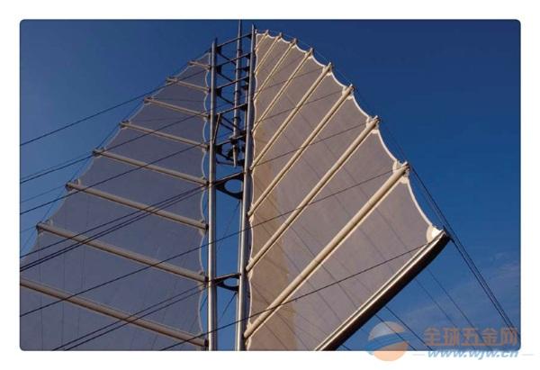 河南膜结构车棚安阳张拉膜结构