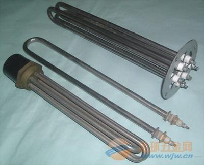 防腐铁氟龙电热管,耐腐蚀加热器电热管,防干烧电热管