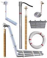 直立型铁氟龙加热器,电热器,直立式不锈钢加热器