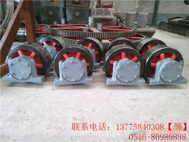 为黑龙江客户定制非标烘干机大齿轮滚圈小齿轮配件