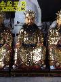 玻璃钢坐像贴金阎罗王神像图片,价格