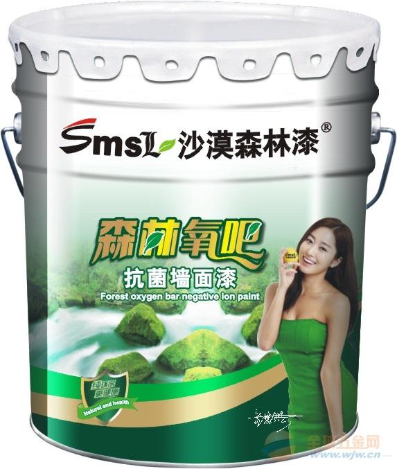 中国十大环绿色墙面漆沙漠森林漆火热招商